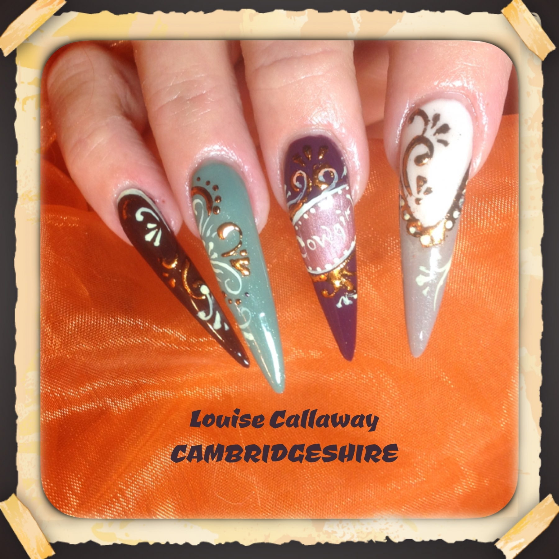 Urban Cowgirl Designs With Lou Callaway Nail Harmony Education