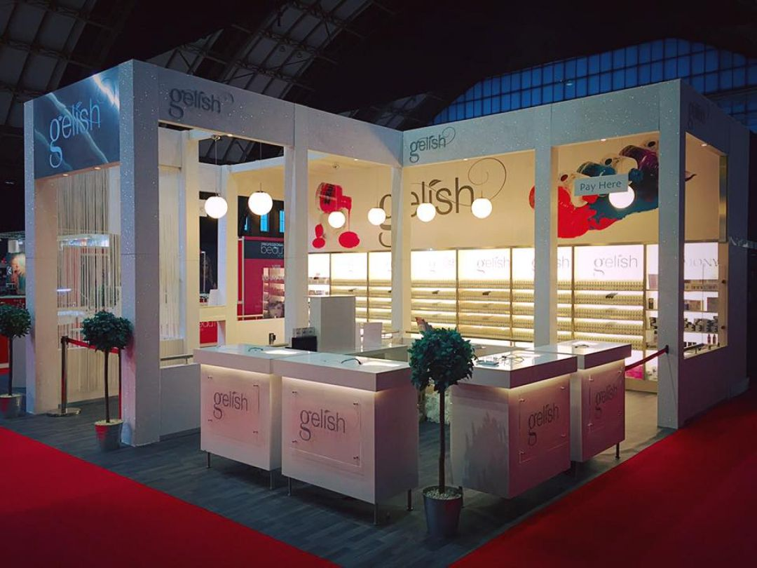 Exhibition Stand Training : Professional beauty exhibition courses nail training