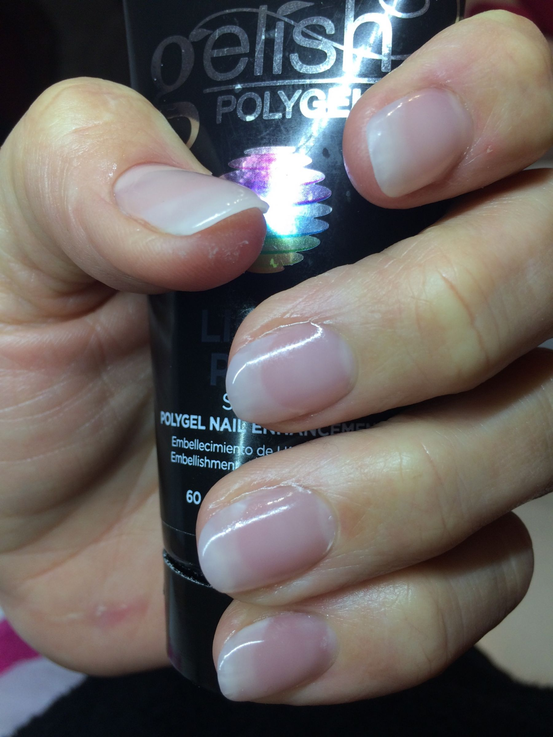 Enlarge Polygel Testimonial Debbie Checkley